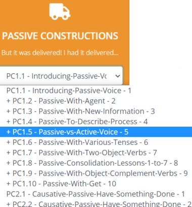 Passive Contsructions